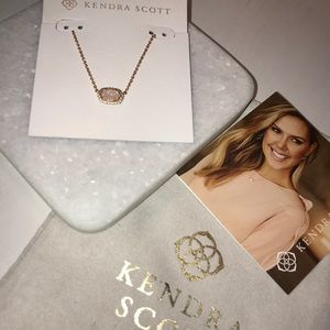 Kendra Scott Chelsea Necklace - Rose Gold